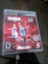 Nba 2K13 PLAYSTATION 3 (PS3) Sports (Video Game) WITH CASE and FREE SHIPPING
