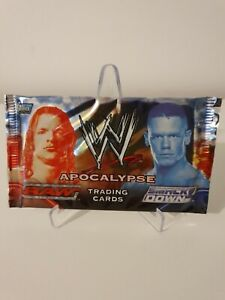 Topps WWE Apocalypse Raw v SmackDown 2004 Pack of 8 Trading Cards