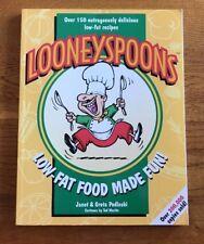 Looneyspoons Low-Fat Food Made Fun! by Janet & Greta Podleski -Christmas Gift!