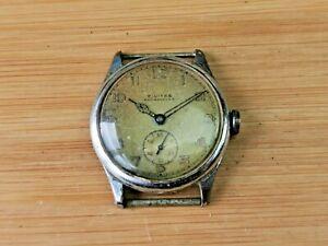 Vintage Civitas (Moeris) 10 1/2C Mens 15 Jewels Wrist Watch, Needs Service