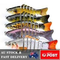 FREE SHIPPING 5 x Fishing Lures Swimbait Sinking Hardbody Murray Cod Lure