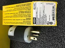 HBL5466C HURBELL Power Entry Connector, 2P3W Grounding, NEMA 6-20, 20 A, Black