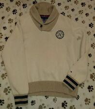 Tommy Hilfiger mens sweater size L VGC original beige