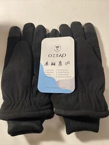 OZERO Freezer Gloves Cold Proof Thermal- Deerskin Suede Leather X-Large