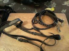 Used leather Pony Bridle