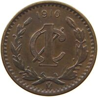 MEXICO MEXICO CENTAVO 1910  #t64 337