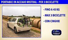 Portabici posteriore Peugeot 307 dal 2001 al 2009 supporto porta biciclette kit
