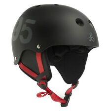 New in Box Liquid Force RECON Water Helmet - Adult S/M - Black w/Red Straps