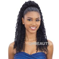 FREETRESS SYNTHETIC BUNTIE LONG HAIR PONYTAIL - TWIST CURL TIE