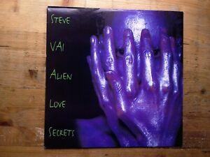 Steve Vai Alien Love Secrets Excellent Vinyl Record Album REL478586 1995 Release