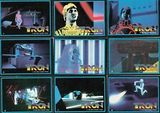 Tron Movie 1982 Donruss Complete Base Card Set Of 66
