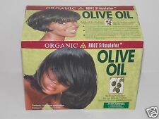 ORGANIC ROOT STIMULATOR OLIVE OIL  NO LYU RELAXER SYSTEM EXTRA STRENGTH NEW