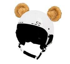 Stick-on ears for skiing helmet  Brown Bear  ski bike Decoration Cover kid ear