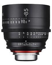New Rokinon Xeen 85mm T1.5 Cine Professional Full Frame Lens for Nikon XN85-N