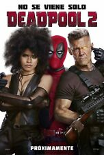 Poster A3 Deadpool 2 Cable Domino Marvel Cartel Film 12