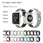 For Apple Watch Nike Silicon Sports  Strap 38/40/42/44mm Soft Silicone UK SELLER