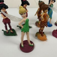 Disney Store Fairies Tinkerbell & Friends Figures Cake Topper Lot of 11