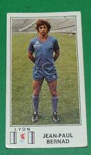 N°121 J-P. BERNAD OLYMPIQUE LYONNAIS LYON OL PANINI FOOTBALL 77 1976-1977