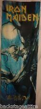 IRON MAIDEN Eddie Fear of the Dark Cloth Fabric Door Poster Flag Banner-New!