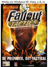 Fallout Tactics + Elder Scrolls Arena + Daggerfall PC Game Win XP Vista 7 8 10