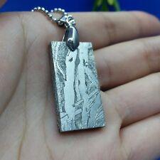 Meteorite pendant seymchan amulet jewelry iron mineral necklace accessory 13.6gm