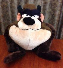Vintage 1971 Large Tazmanian Devil Warner Bros Plush Stuffed Animal TAZ Toy