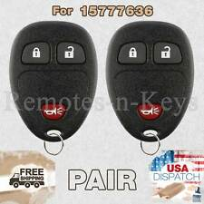 2x Car Transmitter Alarm Remote for 2005 2006 2007 2008 2009 Pontiac Montana 636