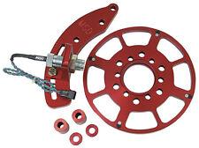 "MSD 8610 Chevy Small Block Crank Trigger Kit 7"" Balancer SBC Flying Magnet"