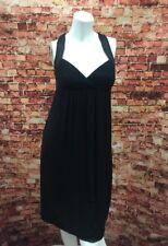 Emilio Pucci Black Open Back Empire Waist Dress Size 4