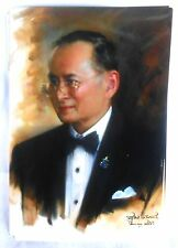 Bild picture König King Bhumibol Adulyadej RAMA IX Thailand 15x10 cm  (s16