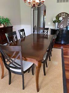bassett furniture dining room set