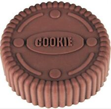 "Cookie Shape 3"" Singles Pan Silicone Mold - Fondant, GP, Chocolate, Crafts"