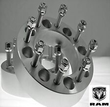 """2 Pc Dodge 2012-2017 Ram 2500 3500 Dually 1.50"""" Wheel Spacers Adapters 8650C1415"""