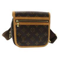 LOUIS VUITTON Monogram Bum Bag Bosphore Body Bag M40108 LV Auth sa1389