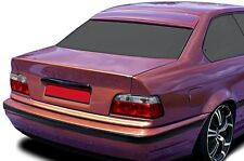 BMW E36 Coupe Euro M M3 Roof Extension Rear Window Cover Spoiler Wing Trim ABS -