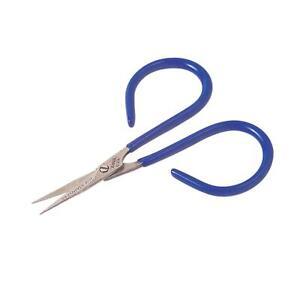 Anvil Mini Scissors 50-A - Micro Serrated Blade Edge - Fly Tying scissors