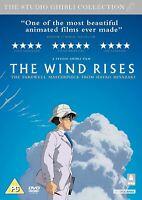 The Wind Rises - Hayao Miyazaki - Studio Ghibli - DVD 2014 with slipcase - NEW