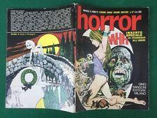 HORROR n.12 Ed.Gino Sansoni (1970) Rivista a Fumetti Inserto Fotoromanzo Orrore
