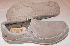 New Skechers Expected Avillo Relaxed Fit Mens Casual Loafers USA-13- 64109/KHK