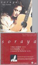 CD--SORAYA--STAY AWHILE--PROMO