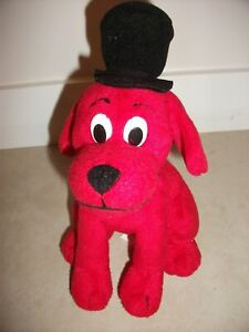 """Clifford The Big Red Dog Plush Toy 18cm (7"""") in height / 10cm wide   Scholastic"""