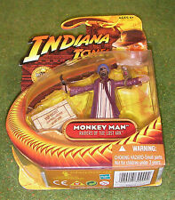"INDIANA JONES CARDED 3.75"" RAIDERS OF THE LOST ARK MONKEY MAN"