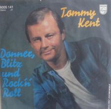 "7"" 1981 MINT- ! TOMMY KENT Donner Blitz und Rock´n Roll"