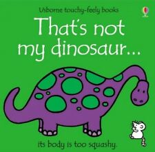 That's Not My Dinosaur by Wells, Rachel Board book Book The Cheap Fast Free Post