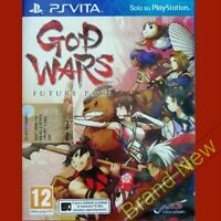 GOD WARS FUTURE PAST - PS VITA ~ Import - Game in English - Brand NEW & Sealed