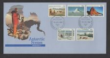 Australian Antarctic Territory Scenes Definitive Issues First Day Covers 1984-87