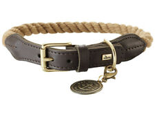 HUNTER Dog Collar with Rope List, 38-46 cm