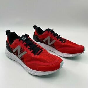 New Balance Men's Fresh Foam Tempo V1 Running Shoes Red/Black MTMPOCR Size 7 D