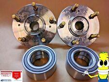 Premium Front Wheel Hub & Bearing Assembly Kit for Honda CRV 1997-2001 Set 2