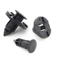HOT 10pcs Auto Car Rivet Weatherstrip Fastener Mud Flaps Bumper Fender Push Clip